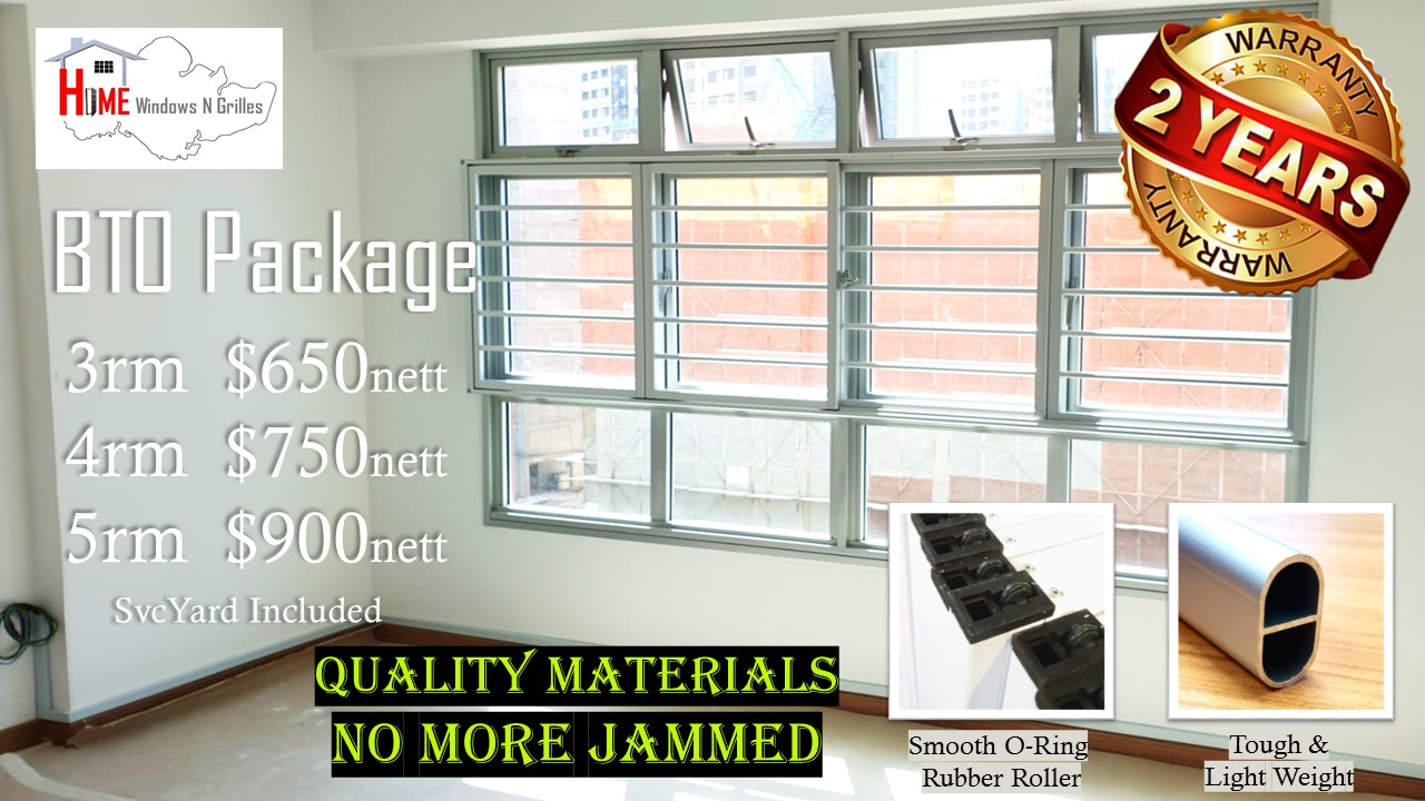 BTO Home window grille Packages