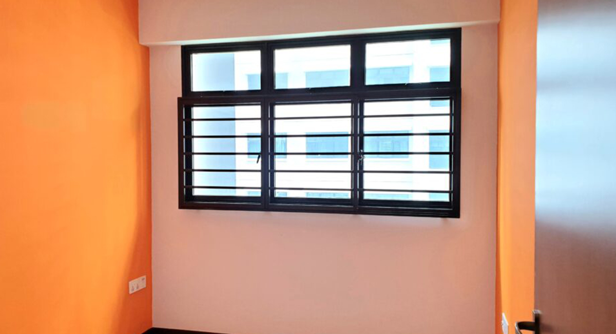Aluminum- Grilles Installation in Singapore