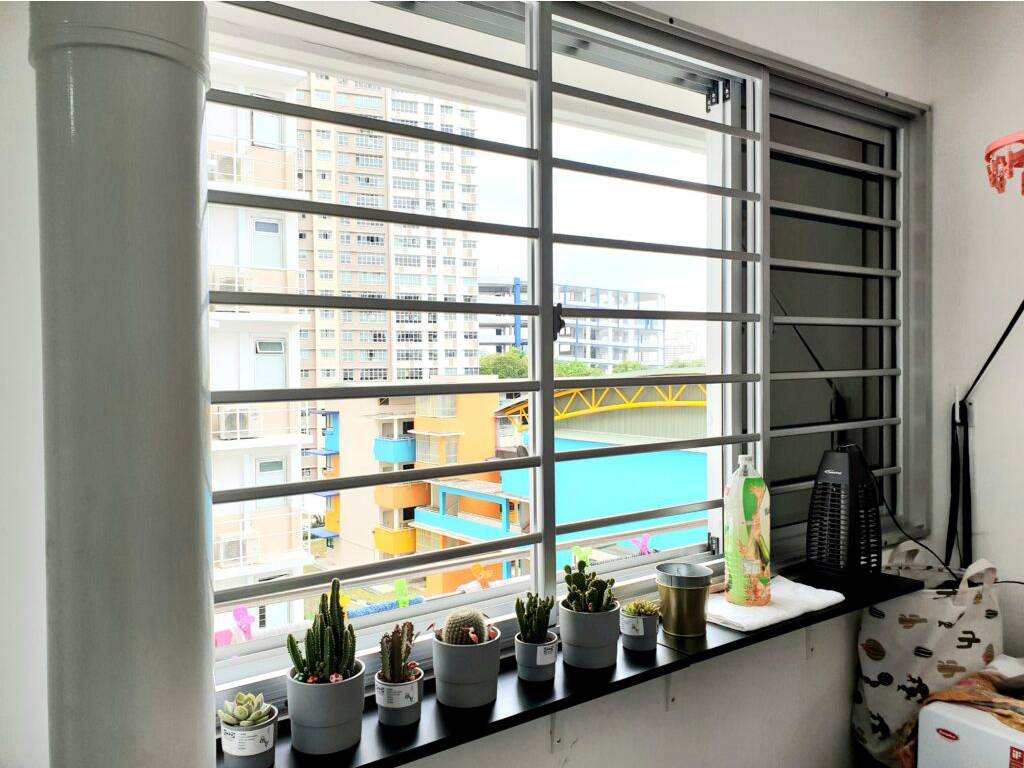 Sliding window and Aluminium Window Grill Singapore