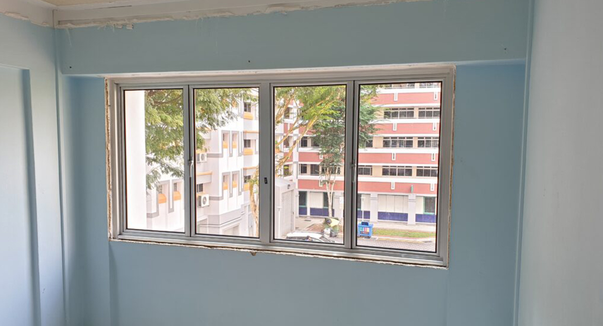 Aluminum Windows Installation in Singapore